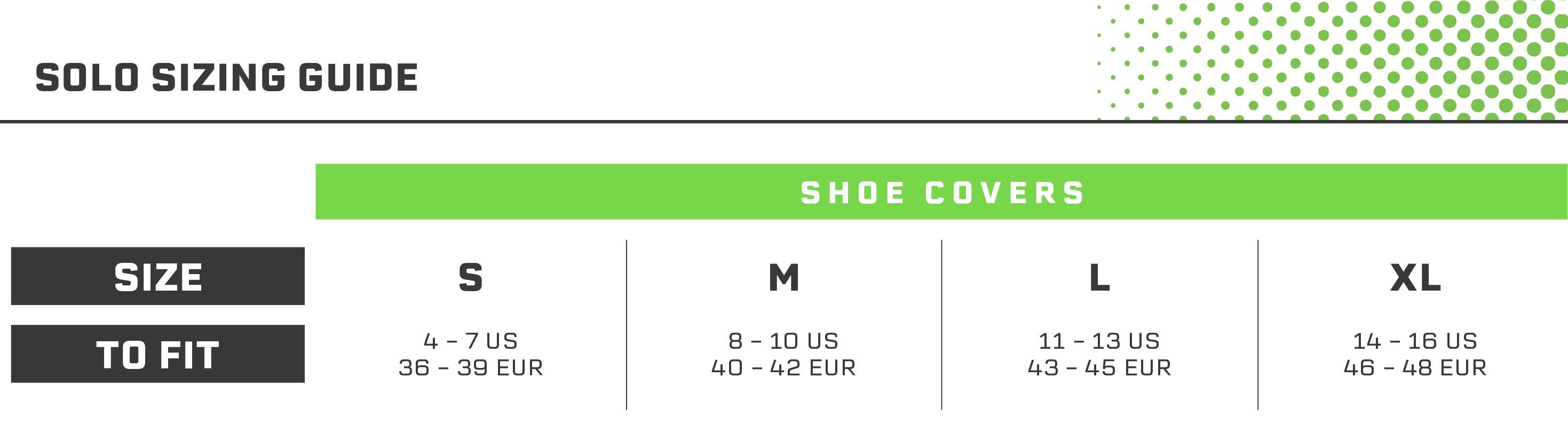 Solo Shoe Cover Guide