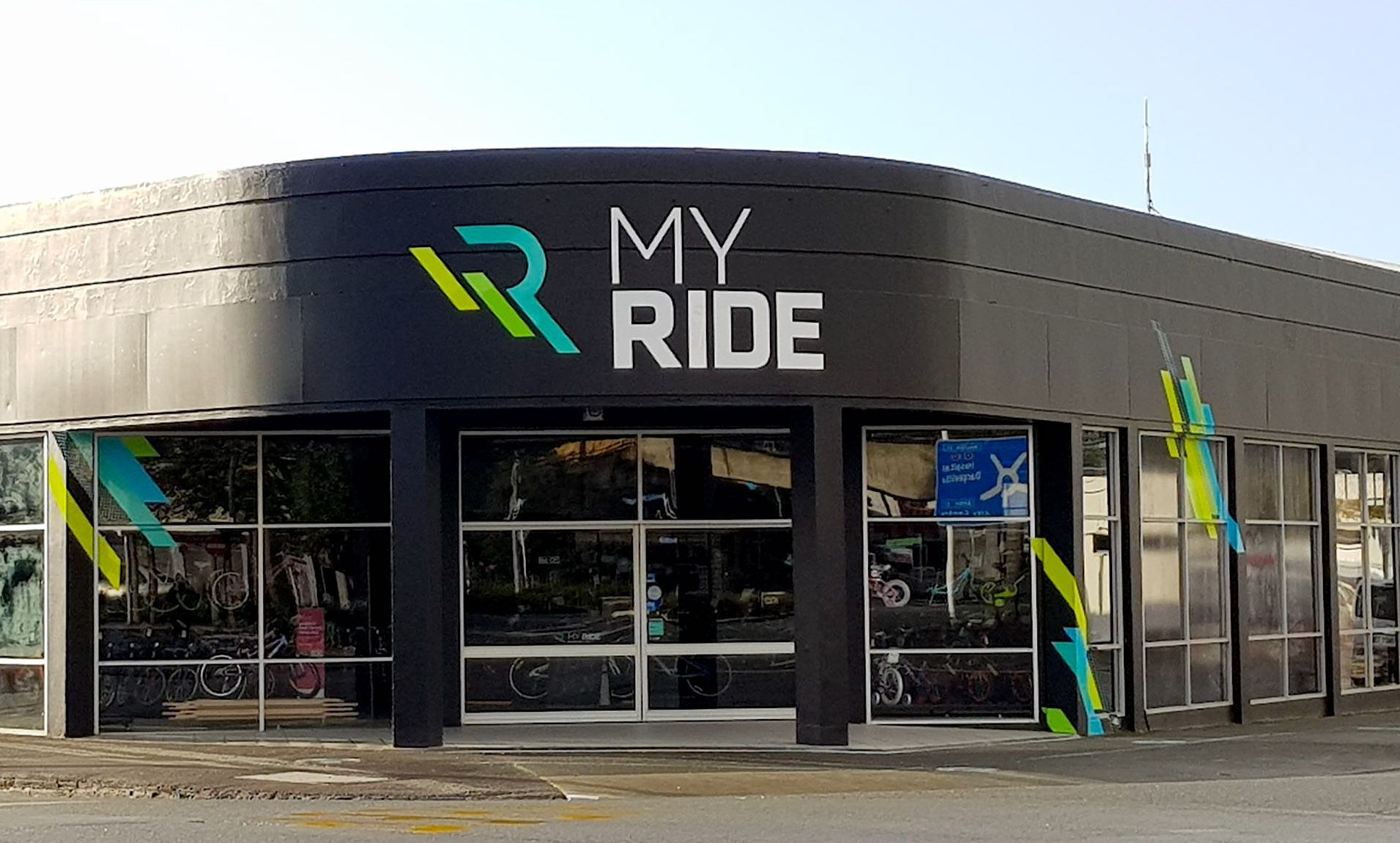 The facade of My Ride store