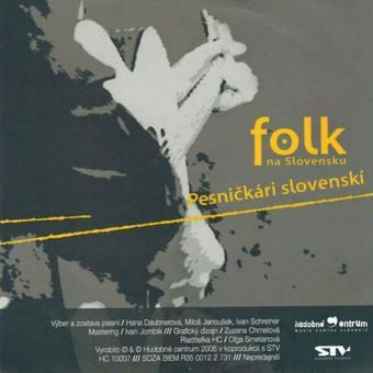 Obálka Pesničkári slovenskí (CD ku knihe Folk na Slovensku)