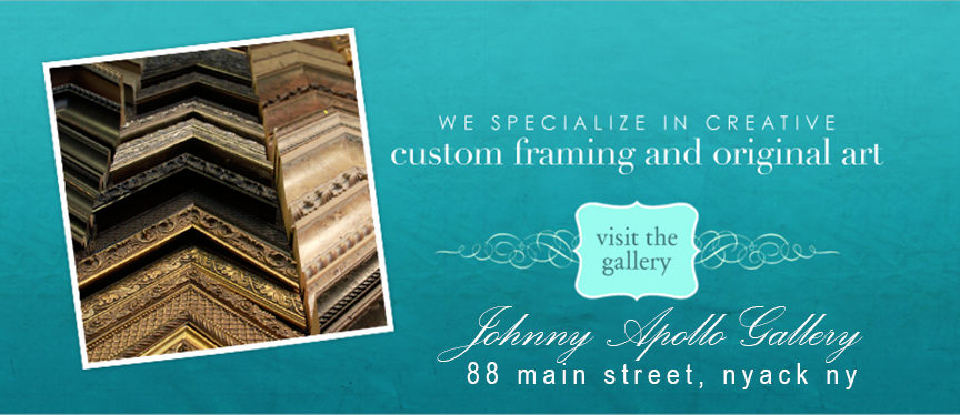 Rockland Art offers the finest custom framing in Nyack, NY Rockland County.