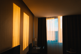 Heat - Mitigating outside heat with curtains