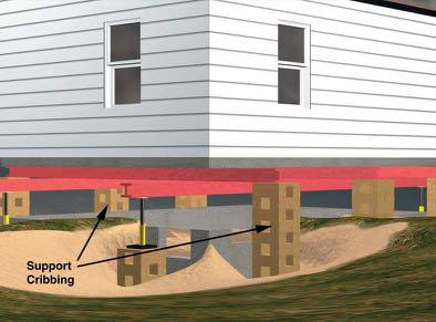 Flood - Raising house for flood protection