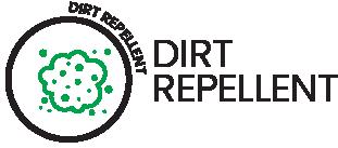 Dirt repellence