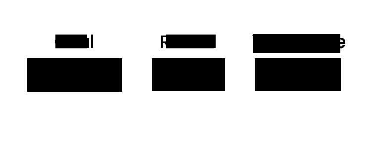 Oval, Round, Wayframes