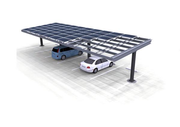 MET3R Solar Carport in Budapest