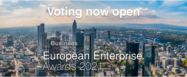 MET3R has been nominated to the European Enterprise Awards