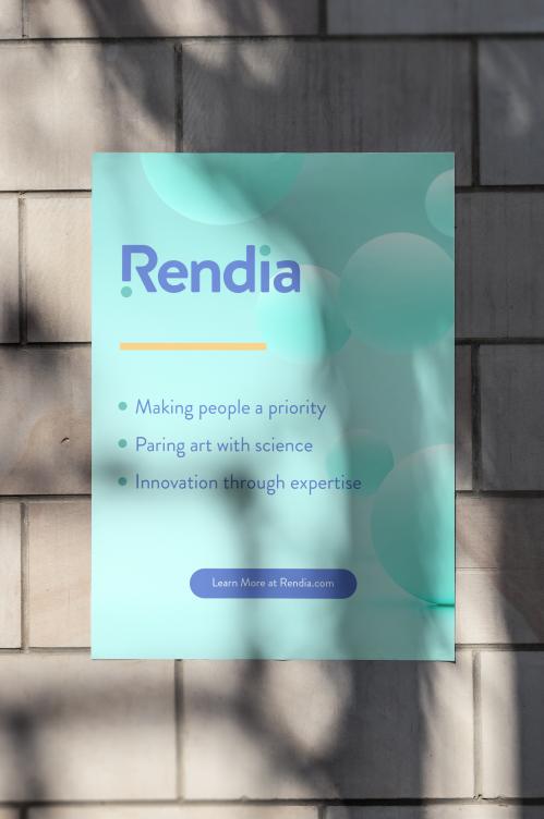 Rendia Poster Mockup