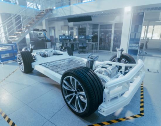 Electric car framework