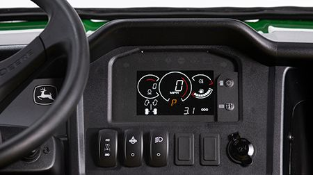 XUV825 S4 and XUV855 S4 4WD and rear differential lock switches