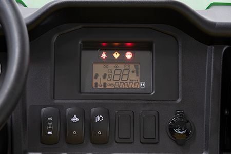 HPX615 and HPX815 instrument cluster