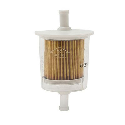 Fuel filter for a lawn mower