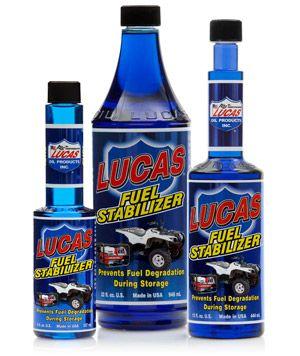 Lucas Oil fuel stabilizer for storage