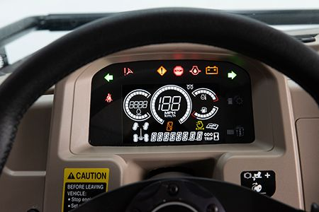 XUV835 and XUV865 instrument cluster