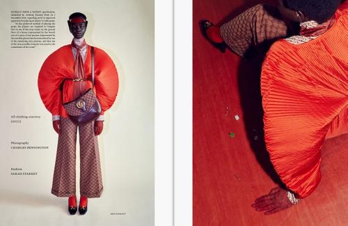Museum Issue 10 Editorial in partnership with Gucci Photographer Charles Dennington