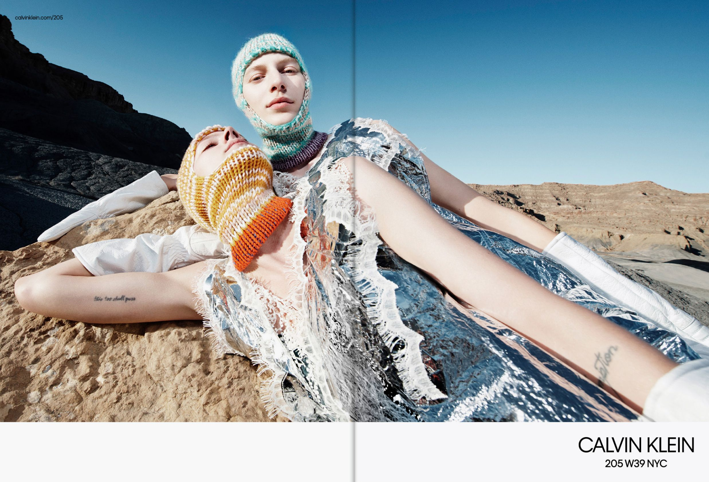 CALVIN KLEIN 205W39NYC Fall 2018 campaign Photographer Willy Vanderperre