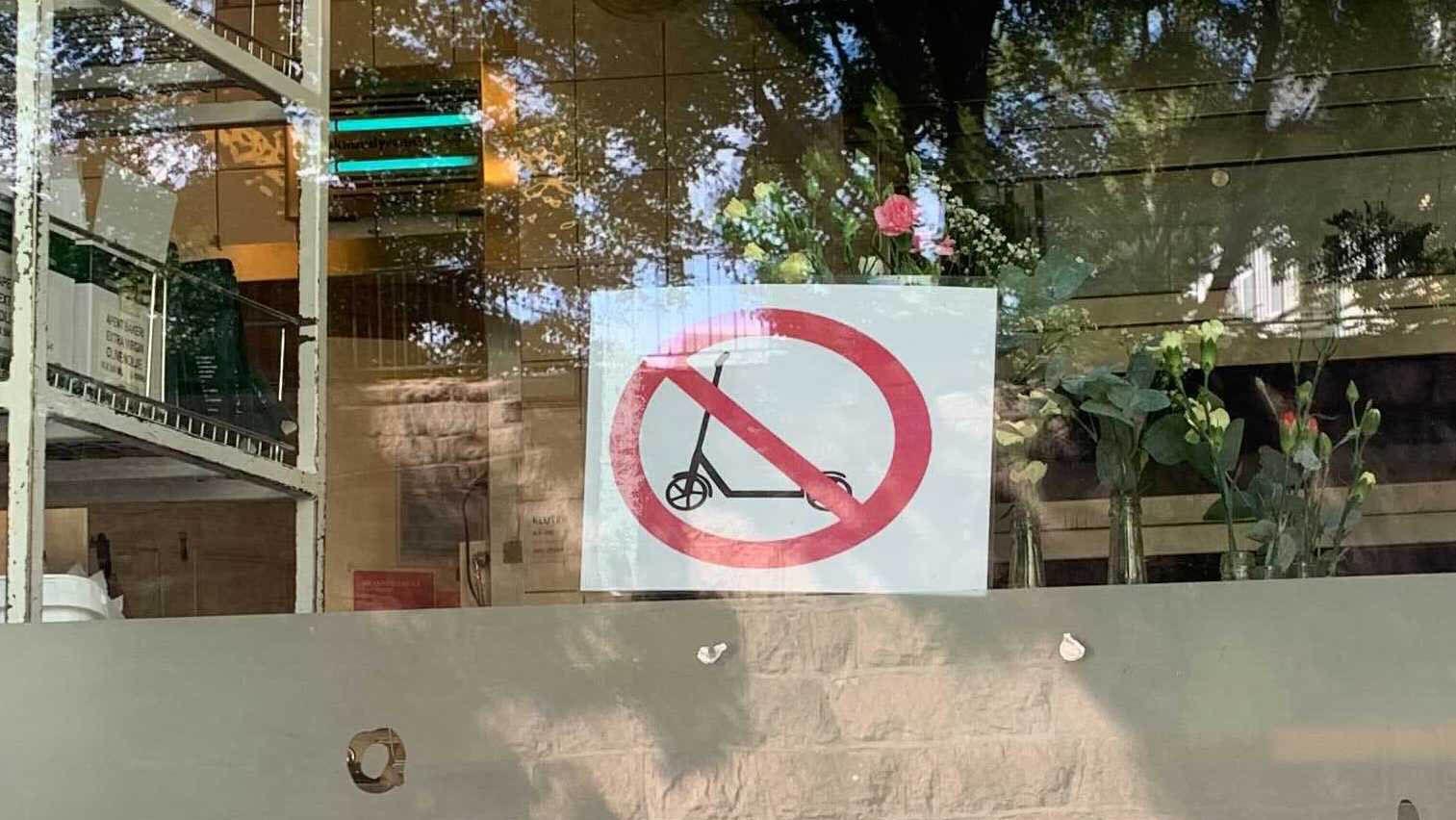 Forbudt for el-sparkesykler