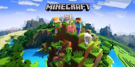Coverbilde av spillet Minecraft.