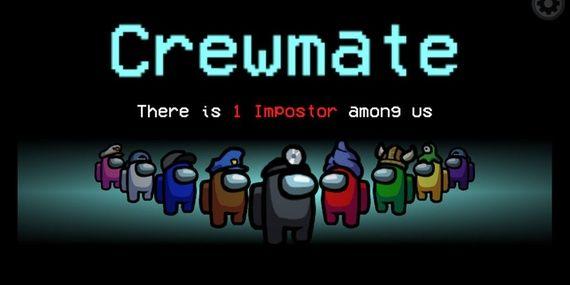 Coverbilde av spillet Among us.