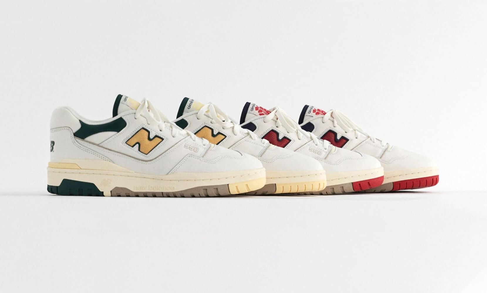 New Balance sneakers: il rilancio del modello vintage 550