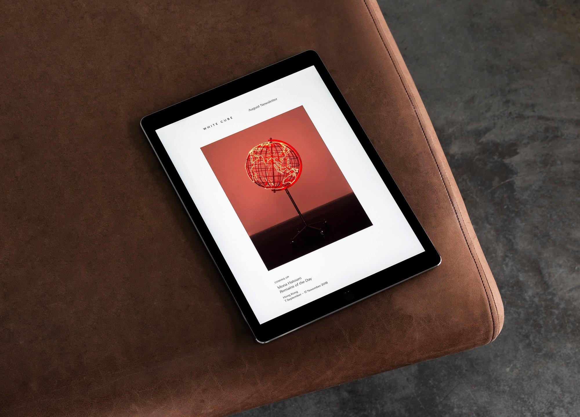 White Cube – Visual Identity