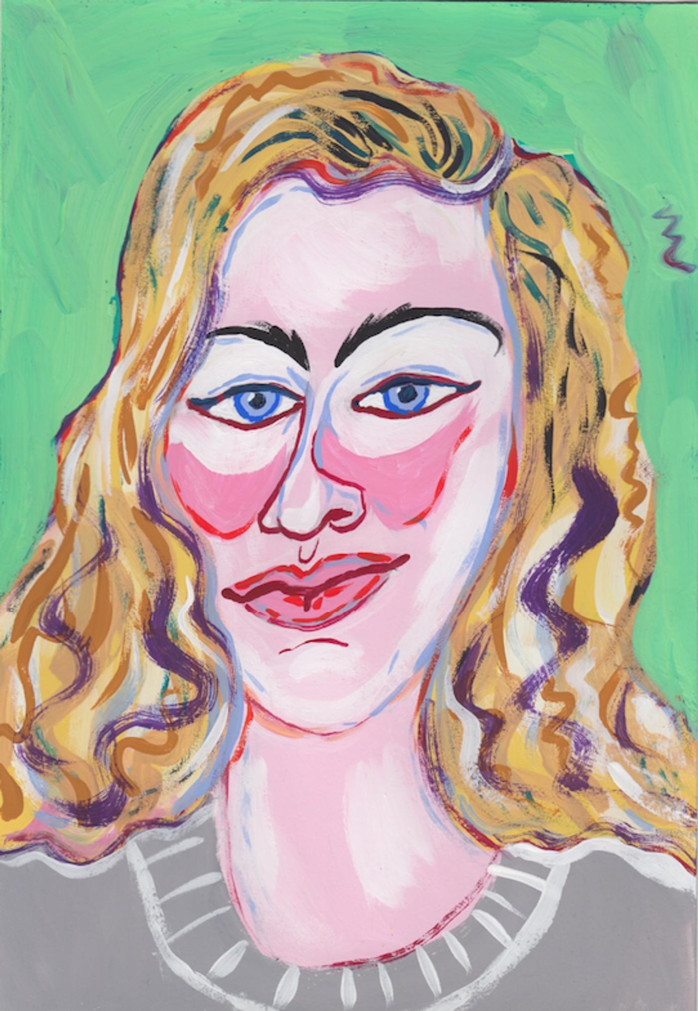 Image of Ilona Szwarc, 2020: Gouache on paper
