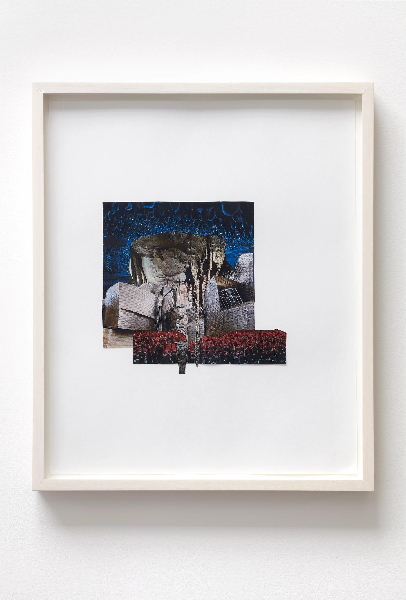 Image of COLLAPSE II, 2021: Collage on paper