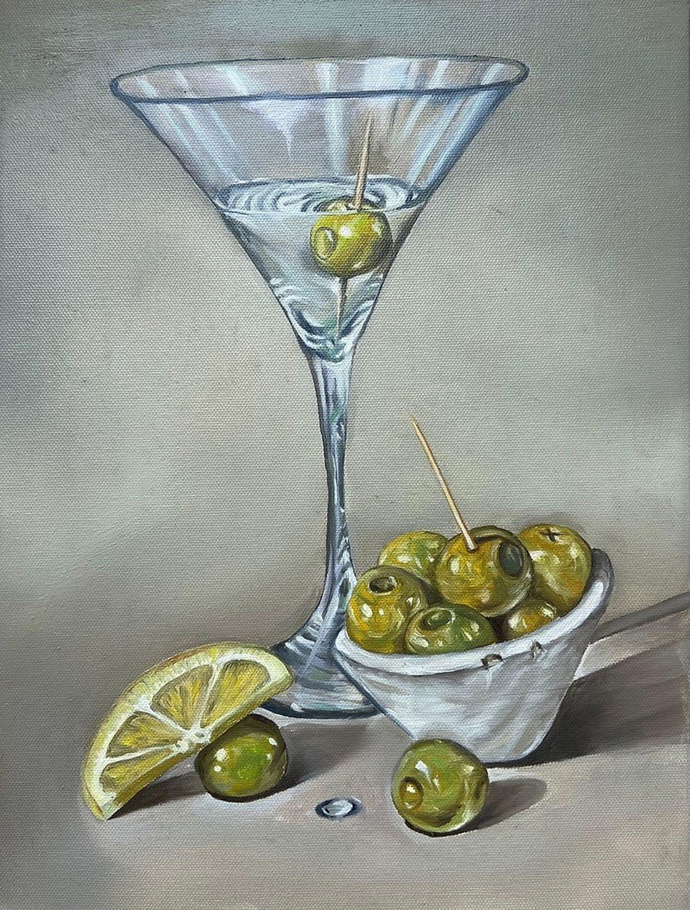 Asya Ulanova, Nurse Painting, 2021. Oil on canvas, 16 x 12 in (40.6 x 30.5 cm).