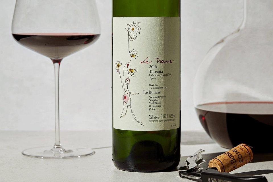 Dyp og fruktdrevet rødvin som skapt for høsten