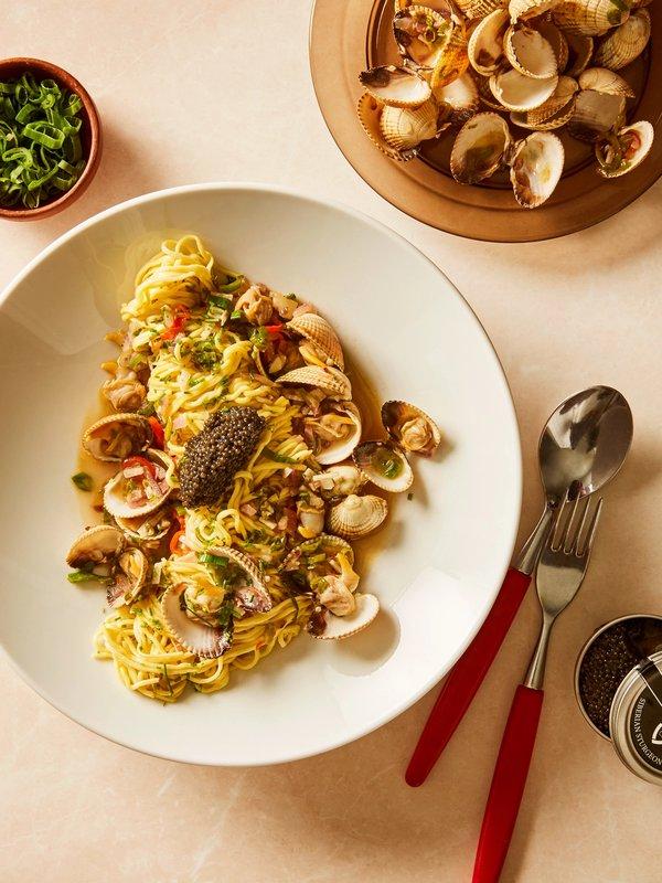 Prøv Katla-kokkens oppskrift på pasta vongole