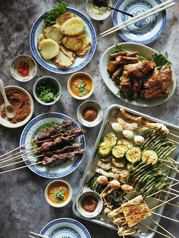 Prøv en grillfest med uimotståelige smaker fra Yunnan