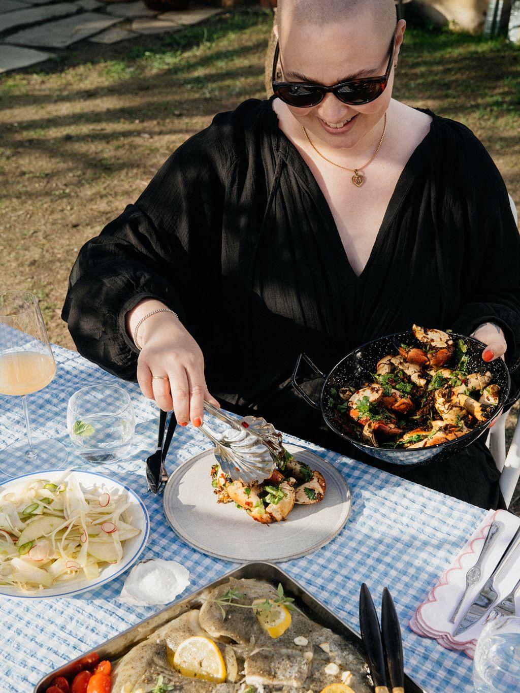 Julie Ilona Balas fra Julies matblogg deler tips og oppskrifter i spalten «Spis sammen», som er basert på hennes nyeste bok.