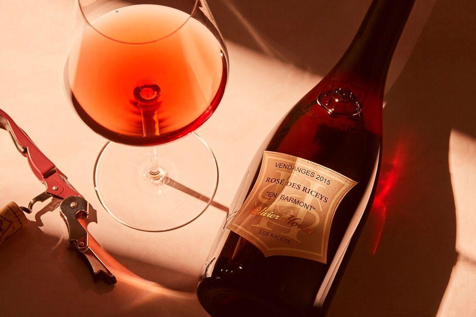 Ukas vin er en atypisk kultrosé fra Champagne