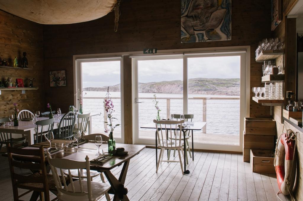På Fiskebruket får du kortreist sjømat og en fantastisk utsikt.