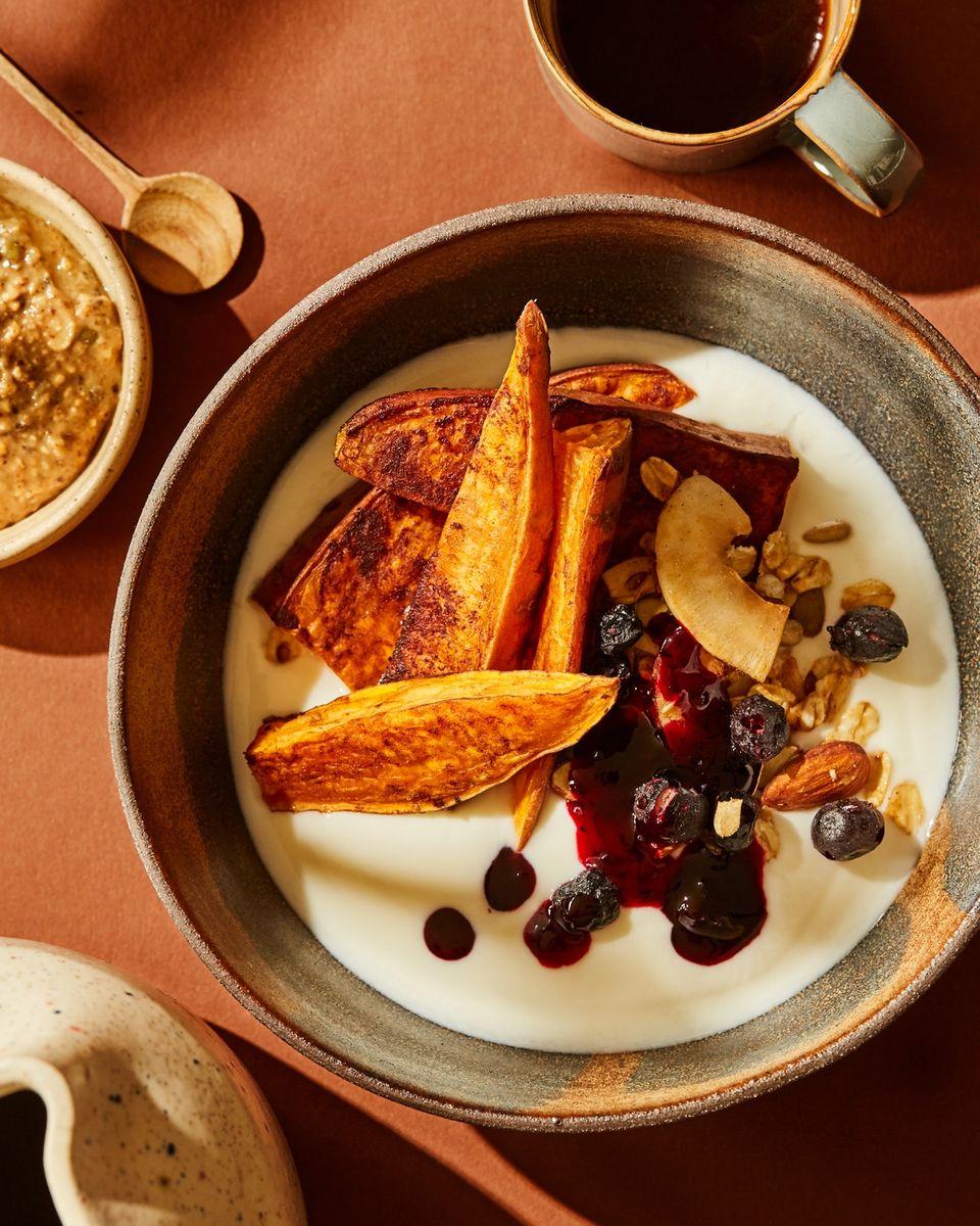 Søtpoteter trenger absolutt ikke å være forbeholdt middagsmat