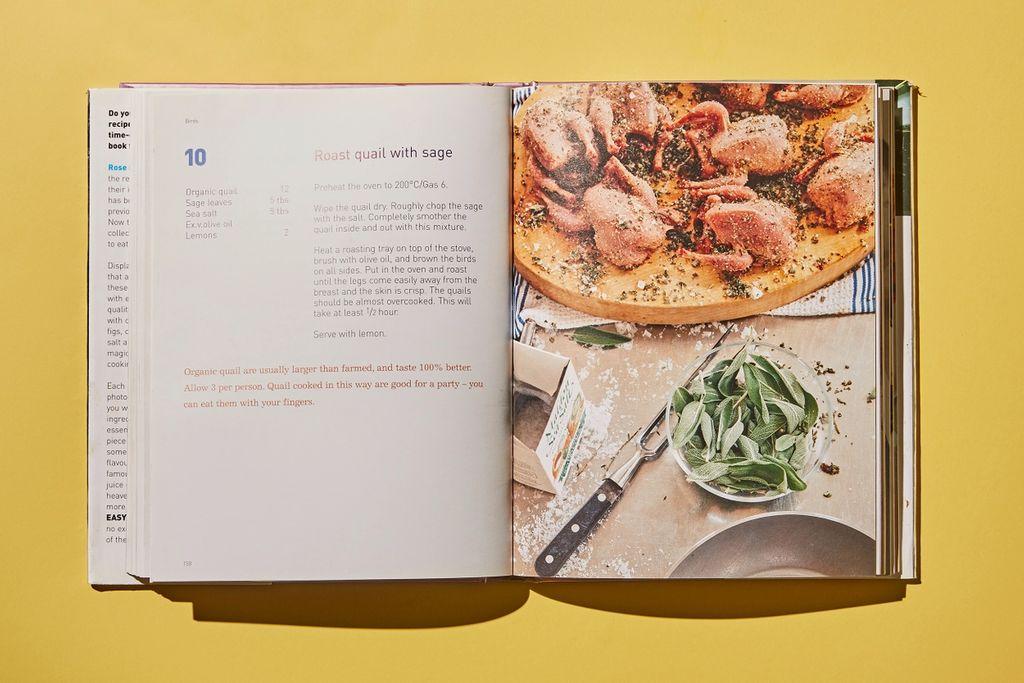 Boka fokuserer på italienske tradisjoner. Vaktel har en stor plass i det italienske kjøkken, mye fordi de tradisjonelt i størst grad har brukt kylling til eggproduksjon. Men også fordi det smaker utrolig godt!