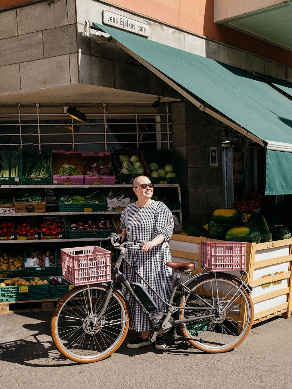 Julie Ilona Balas fra Julies matblogg bruker intuisjonen mye når hun lager mat.