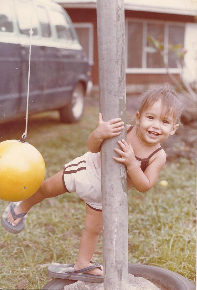 Tafuna, American Samoa, 1983.