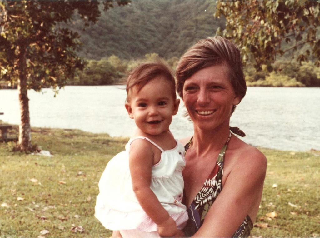 Tafuna, American Samoa, 1981.