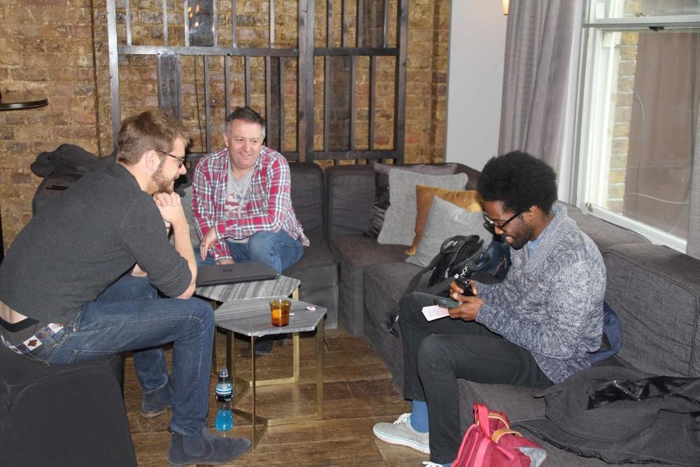 EOB Academy interviewing Finlay Stewart (Head Coach GamersOrigin)  and Darren Newnham (Nexus) two esports professionals