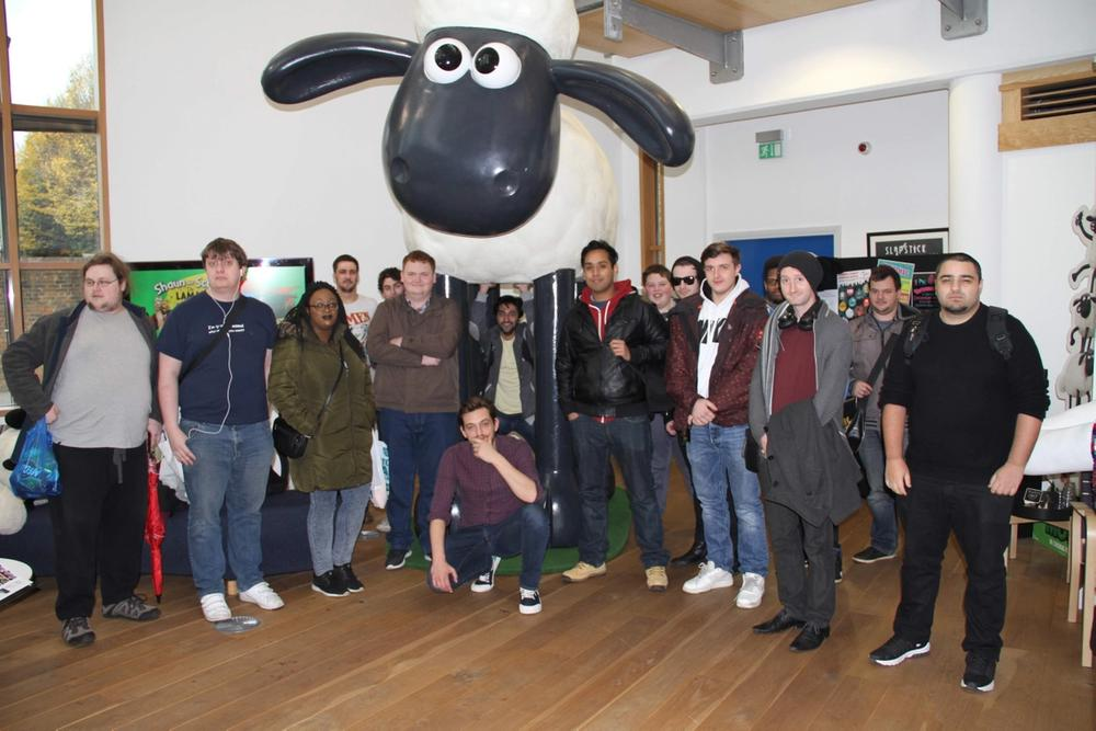 A Trip to Aardman in Bristol with EOB Academy Students