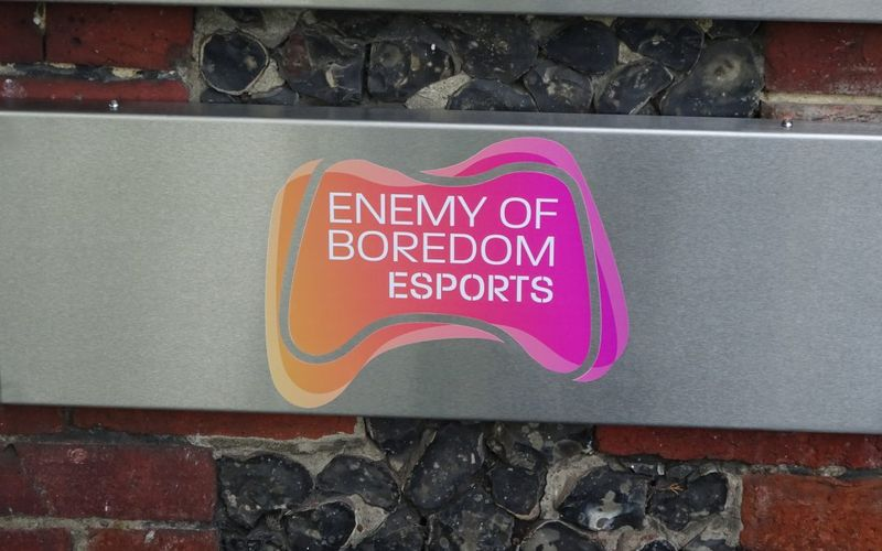 EOB Academy's New Sign