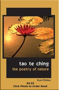 Tao te ching the poetry of nature by kari hohne book cover