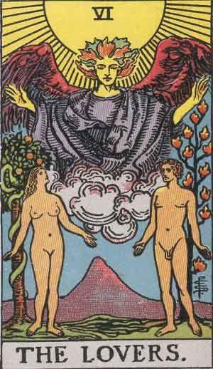 The Lovers Tarot Card