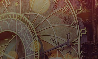 Astrology grid clock background 2
