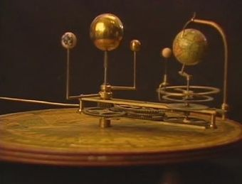metal brass balls in orbit