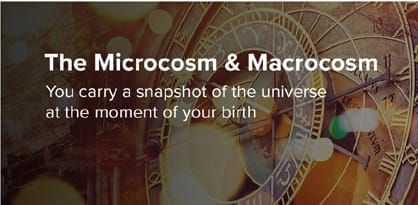 Macrocosm and Macrocosm with clock in background