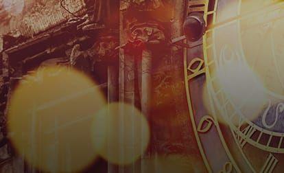 Astrology grid clock background 3