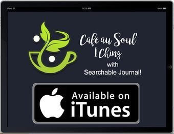 Ipad app of I Ching by Cafe au Soul