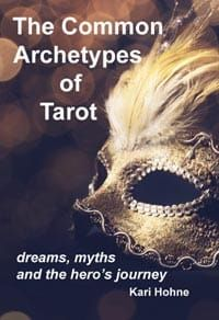 Common archetypes of tarot book front cover