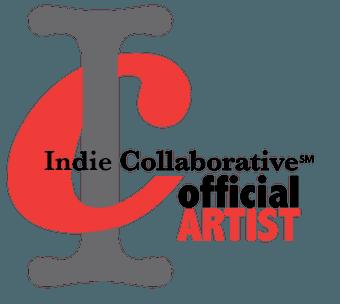 Indie collaborative artist logo